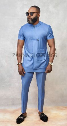 Mens Style Discover Zanna Clothing African Wear Styles For Men African Shirts For Men African Dresses Men Ankara Styles For Men African Attire For Men African Clothing For Men Nigerian Men Fashion African Men Fashion Mens Fashion Wear Latest African Wear For Men, African Shirts For Men, African Dresses Men, African Attire For Men, African Clothing For Men, Mens Fashion Wear, Big Men Fashion, Military Inspired Fashion, Nigerian Men Fashion