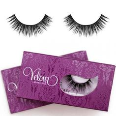 Picked up some of these beautiful Velour #lashes at the #makeupshownyc 10th anniversary #makeup #beauty #strikeapose