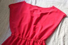 DIY Vestido muy fácil para el verano (patrones gratis incluidos)