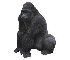 Gorilla Ornament #Zoo #Big #Cute #Gorilla