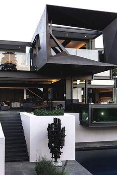 Inspiring Architecture. uniqueye.uk — luxuryera: Kloof Road House Designed by: Nico...