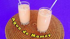 Rica receta para preparar una refrescante y nutritiva agua de mamey https://youtu.be/hobEvqn2qO0
