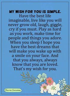 My wish