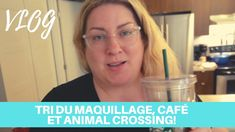 TRI DE MAQUILLAGE, CAFÉ ET ANIMAL CROSSING POUR PASSER LE TEMPS - Vlog Tri, Quelque Chose, Animal Crossing, Makeup, Animaux