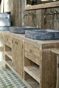 Outstanding rustic bathroom