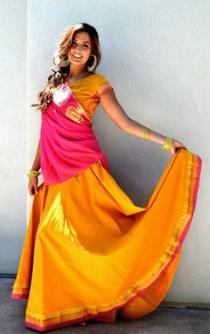 Website: Radha Govindha south-indian-cotton-lehengas