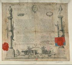 French Revolution Digital Archive: Assemblée nationale séance du samedi dix neuf juin 1790. Décret en faveur des citoyens qui se son...