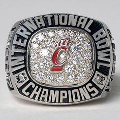 University of Cincinnati Bearcats football - 2007 International Bowl Champions ring