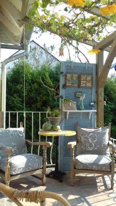 Porch Swing, Outdoor Furniture, Outdoor Decor, Home Decor, Lawn And Garden, Decoration Home, Room Decor, Porch Swings, Home Interior Design