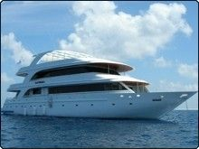 The MY Sachika, one of the most luxurious Maldives liveaboards