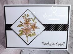 Dido's Designs: Floral Thanks...
