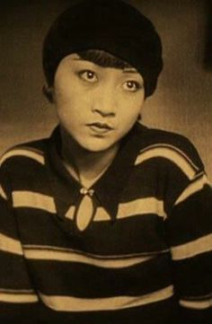 Anna May Wong in the beginning of the film, Piccadilly
