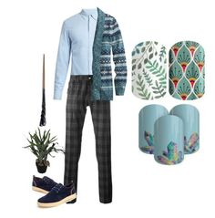 """""""Guess The Harry Potter Character"""" by kspantongroup on Polyvore featuring Frame, Jacob Cohёn, L.L.Bean, Abigail Ahern, men's fashion and menswear"""