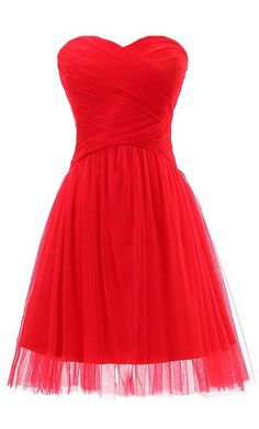Tulle and Satin Short Zipper Back Bridesmaid Dress for Weddings