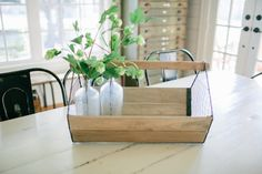 Wood and Wire Trug
