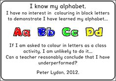 Peter Lydon ~ I know my alphabet | Flickr - Photo Sharing!