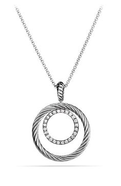 David Yurman 'Mobile' Pendant with Diamonds on Chain available at #Nordstrom