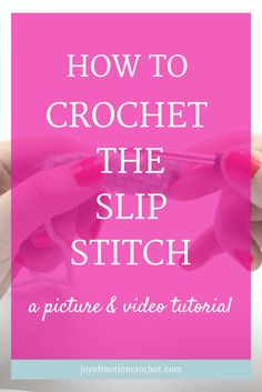 How to crochet the slip stitch. basic crochet | Basic Crochet Stitch | basic crochet stitches | beginner crochet | beginner crochet stitch | crochet | crochet instructions | crochet stitch | Crochet Stitch For Beginners | Crochet Stitch Guide | crochet stitch tutorial | easy crochet | easy crochet stitch | How to do crochet stitch | learn crochet |learn to crochet | slip stitch | how to crochet the slip stitch | slip stitch crochet | Learn to crochet guide |Free Crochet Tutorials | Free…