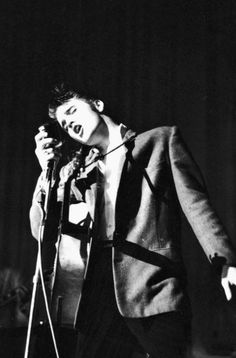 "Elvis Aaron Presley (January 8, 1935 – August 16, 1977) was an American singer and actor. A cultural icon, he is commonly known by the single name Elvis. One of the most popular musicians of the 20th century, he is often referred to as the ""King of Rock and Roll"" or ""the King""."