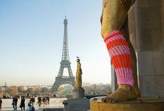 Urban knitting Paris