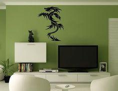 Wall Mural Vinyl Decal Sticker Art Decor Chinese Dragon AL114