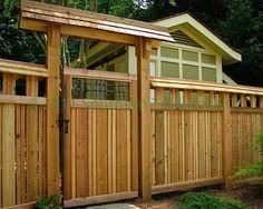 Japanese Fence and Gate - asian - landscape - atlanta - Southern Trillium LLC