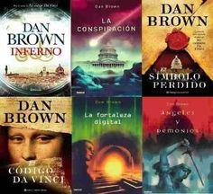 ¿En qué orden leer a Dan Brown? - PDF & ePUB