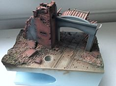 Quick Tutorial - Stalingrad Sewers, step by step! | Scale model | Diorama | Vignettes