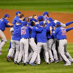 Sports: How the Chicago Cubs Made World Series History