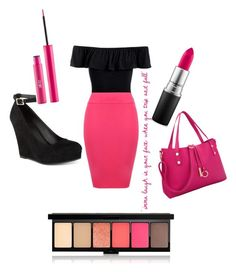 """""""Random"""" by queen1997nat on Polyvore featuring Sans Souci, WearAll, Material Girl, MAC Cosmetics, Sigma and Dasein"""