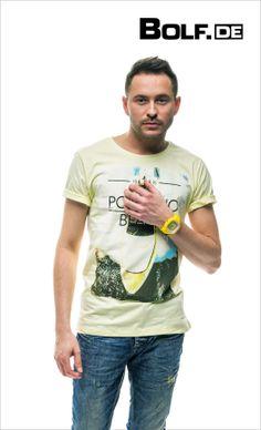 Tolle T-shirts in hellen Farben Herrenmode 2014 https://www.bolf.de/herrenmode/t-shirts/