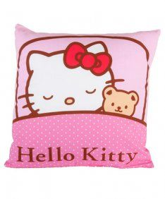 Dreams Rosa Hello Kitty Themes, Child Smile, Kool Kids, Hello Kitty Collection, Cute Pillows, Sleepy Cat, Sanrio Hello Kitty, Here Kitty Kitty, Cute Owl