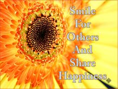 smile for others