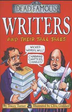 famous authors | Dead Famous: Writers and their Tall Tales - Scholastic Book Club