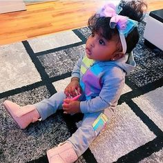 Pin by rachel denise on savannah 's baby board красивые дети, дети, ма Cute Mixed Babies, Cute Black Babies, Black Baby Girls, Beautiful Black Babies, Cute Baby Girl, Beautiful Children, Little Babies, Cute Babies, Babies Stuff