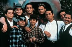 Blood in Blood out. I'm not glorifying this lifestyle but if you grew up in East l.a. there's a little bit of them in you, whether it's the music, slang, expressions, style or the love of those lowriders. (Suavecito):o) Benjamin Bratt as El Gallo Negro...yum.
