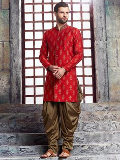 Don't Just Pin Get It In Your Wardrobe. Jayashree Garments We Build Custom Bespoke As Well As Made to Measure Garments Suits, Blazer's, Royal Sherwanis And Our Speciality Is Mass Production Of School/College's Uniforms Kurta Men, Mens Sherwani, Wedding Sherwani, Boys Kurta, Wedding Dresses Men Indian, Wedding Dress Men, Wedding Suits, Red Wedding, Wedding Wear