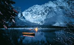 Koenigssee~Germany by night  If you are a Germany Lovers, check out this Germany collection, you may like it :)  https://etsytshirt.com/germany  #germanylovers #ilovegermany