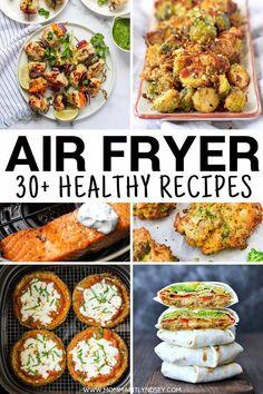 Air Fryer Recipes Cookbook, Air Fryer Fish Recipes, Air Frier Recipes, Air Fryer Dinner Recipes, Air Fryer Recipes Vegetables, Recipes Dinner, Air Fried Food, Clean Eating, Air Fryer Healthy