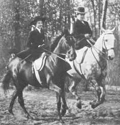 """In August 1910, I had to lead my new Regiment in a march past my before my father, but it's not as easy as it sounds. I had to ride endlessly to practice the proper pace on my horse, riding side-saddle. I regretted being a female."" ~Princess Viktoria Luise of Prussia"