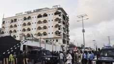 Suicide car bomb targets hotel