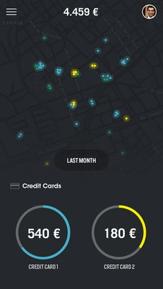 Transactions map