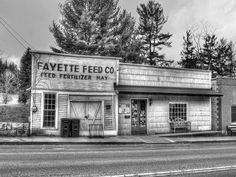 Old Feed store in Fayette, WV