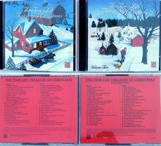 Time-Life Treasury of Christmas 4 Cds Vols 1+2 v/a 93 Classic Songs + Bonus 1987 #Christmas