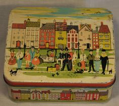 SUPER HORNERS TOFFEE TOWN CITY LONDON ENGLAND POLICEMAN CHEF TIN C1950-60S | eBay