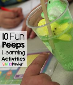 10 Easy and Simply Peeps Activities for kids from #SiimplyKinder!