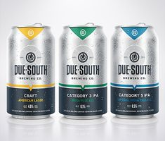 Due South Cans @flbeer @flbeernews #Florida #brewery