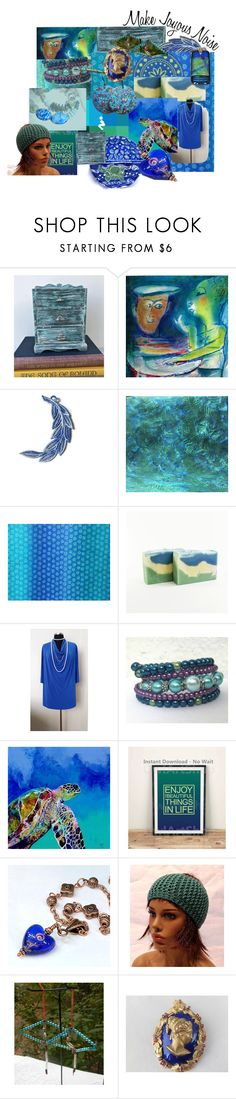 """""""Make Joyous Noise!"""" by rescuedofferings ❤ liked on Polyvore featuring Julio and EtsySpecialT"""