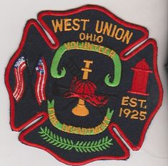 Fire Department Patch.