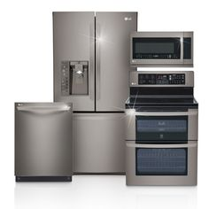 LG Black Stainless Steel Series: Black Stainless Steel Appliances | LG CANADA  #LGLimitlessDesign #Contest